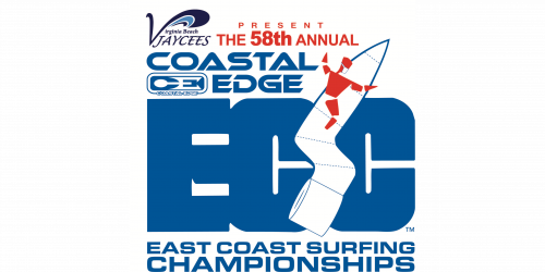 Coastal Edge East Coast Surfing Championships logo